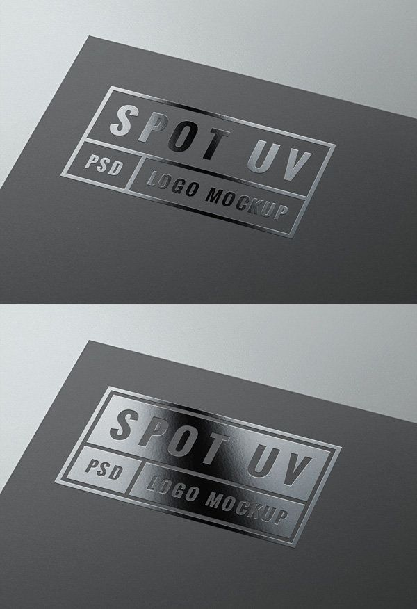 Spot UV Logo MockUp | GraphicBurger And they have a lot more things you might find useful.