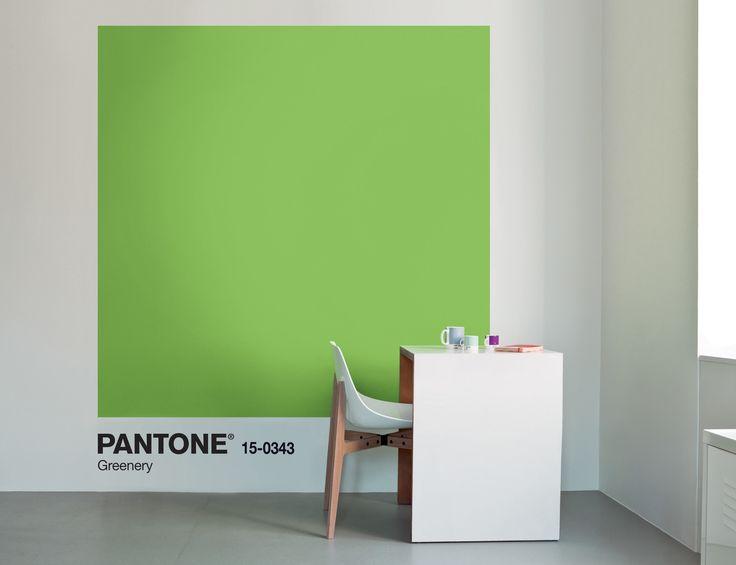 Pantone vient de révéler sa couleur de l'année 2017et voit la vie en Greenery. Une teinte entre vert anis et vert-jaune, pleine de peps, parfaite pour dynamiser la décoration intérieure. A petite dose.