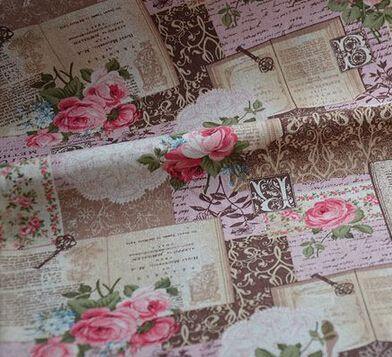 vintage katoen linnen 145x100cm linnen katoenen weefsels beddengoed patchwork tafelkleed textiel quilten tecido pe138a