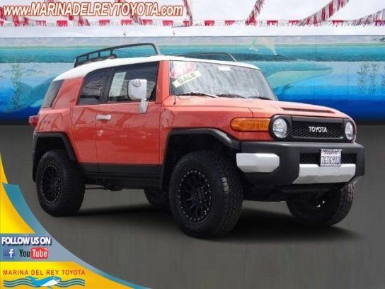 Sport Utility, 2014 Toyota FJ Cruiser 4WD With 2 Door In Marina Del Rey, CA  (90292)