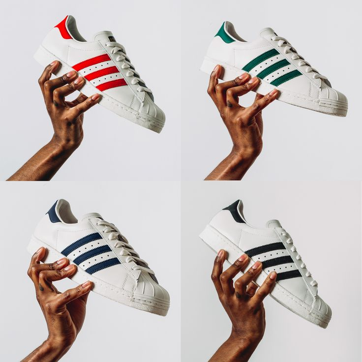 Unparalleled status from the courts to the concrete. This week's #kickoftheweek: #adidasOriginals #Superstar 80s Vintage Deluxe Pack. Featuring a premium leather construction across the upper, rounded off by the unmistakable rubber shell-toe. Available now in four classic colourways in stores and online.