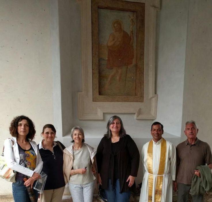 A Vallo di Nera presentato il restauro di un antico affresco e delle fonti