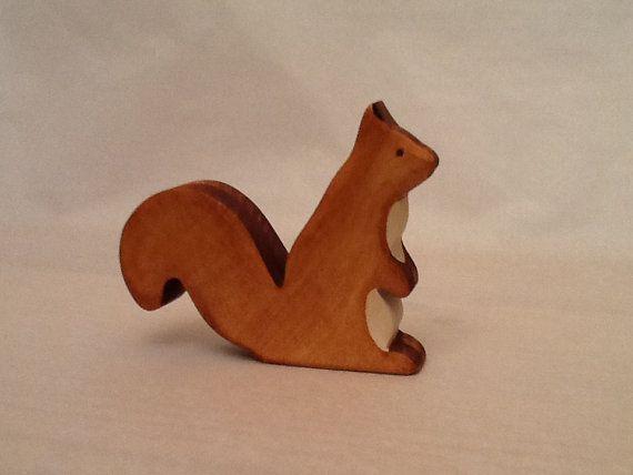 squirrel Waldorf inspired by brindbois on Etsy