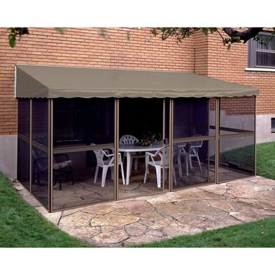 Gazebo Penguin E1508 7.5-ft x 15-ft Add-A-Room Gazebo  sc 1 st  Pinterest & 358 best *Outdoor Structures u003e Canopies u0026 Gazebos* images on ...