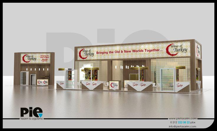 Wines Of Turkey Stand Tasarımımız