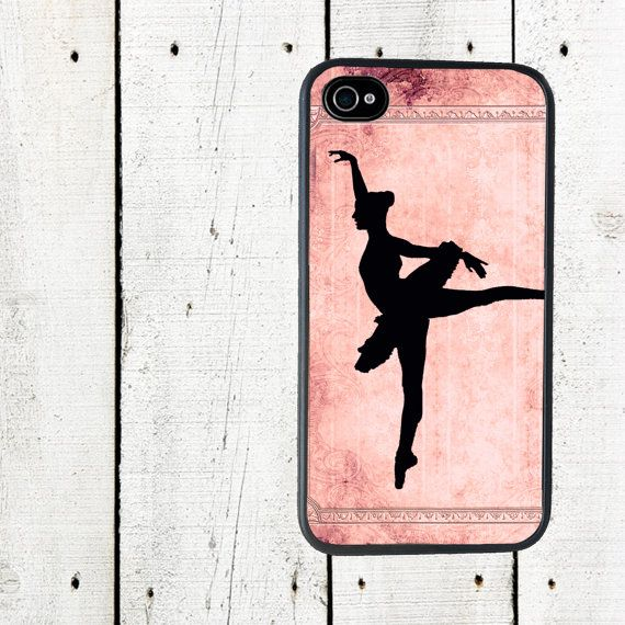 Ballet iPhone Case- Pink Ballet Cell Phone Case - iPhone 5 Case - iPhone 4,4s - Gifts Under 25