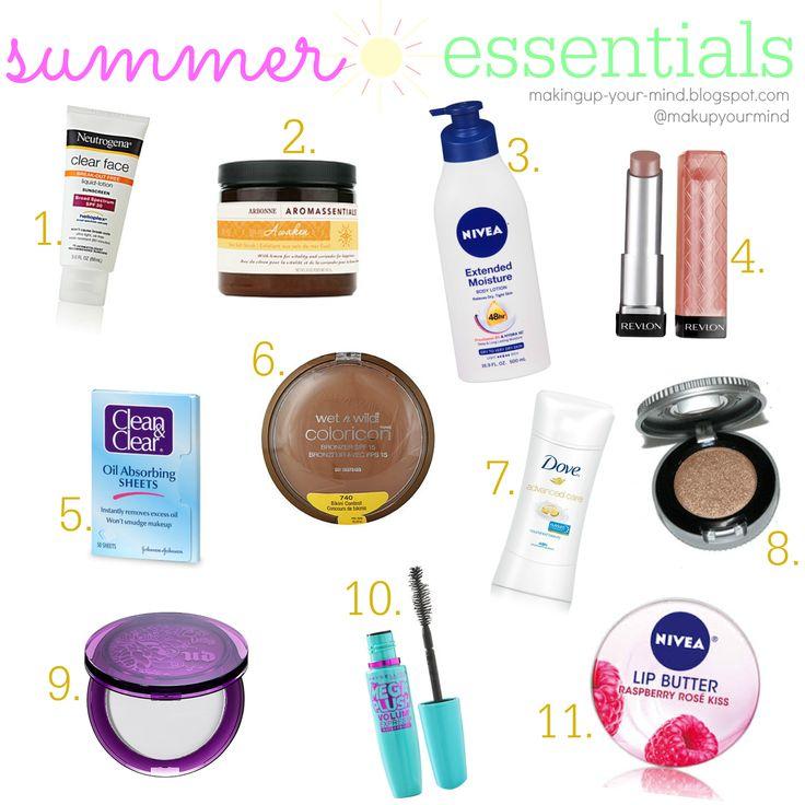 makeup your mind: 2014 Summer Essentials!