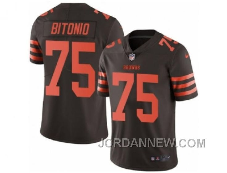 http://www.jordannew.com/mens-nike-cleveland-browns-75-joel-bitonio-limited-brown-rush-nfl-jersey-christmas-deals.html MEN'S NIKE CLEVELAND BROWNS #75 JOEL BITONIO LIMITED BROWN RUSH NFL JERSEY CHRISTMAS DEALS Only $23.00 , Free Shipping!