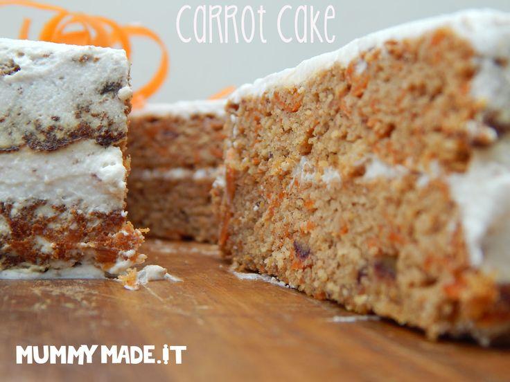 Carrot Cake with Lemon Cream Icing