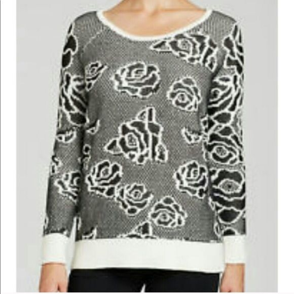 NWT💥HEATHER B Black-Ivory Pattern Sweater Size: XL Size Origin: US Manufacturer Color: Black-Ivory Retail: $98.00 Condition: New with tags Style Type: Pullover Sweater Collection: Heather B Sleeve Length: Long Sleeve Bust Across: 23 Inches Neckline: Scoop Material: 44% Cotton/34% Acrylic/26% Rayon Fabric Type: Knit Specialty: Pattern Heather B Sweaters