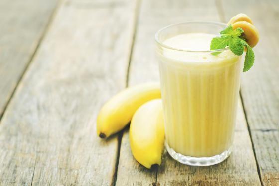 Smoothie banana coco