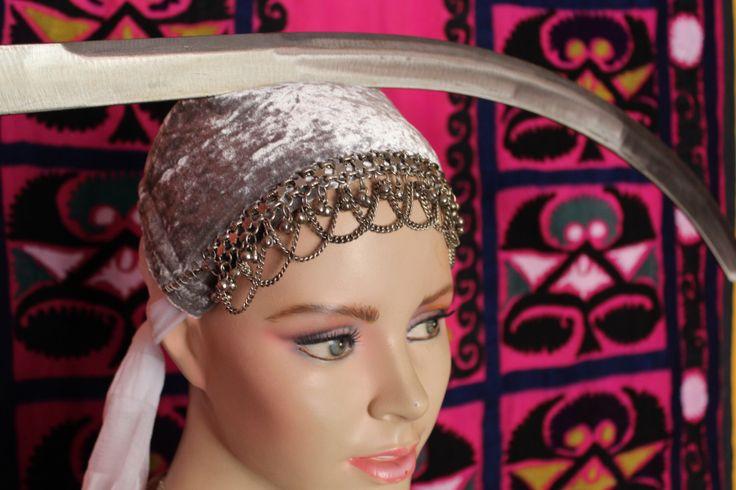 Tribal Velvet Hairband for Sworddance, Alice Band, Bellydance-Hairband by neemaheTribal on Etsy https://www.etsy.com/listing/233064648/tribal-velvet-hairband-for-sworddance