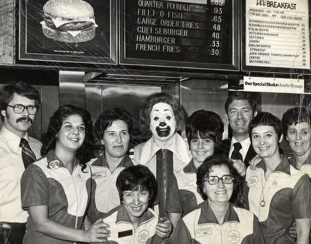 Guess how much a Big Mac was back when @McDonald's first setup shop #ThrowbackThursday