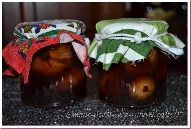 Le Ricette della Nonna: Cipolline borettane agrodolci con aceto balsamico
