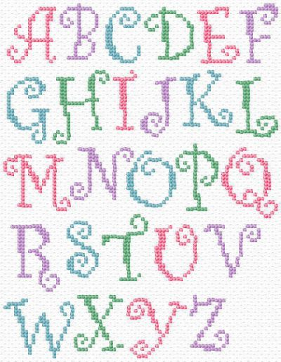 cross stitch letter patterns - Yahoo Search Results