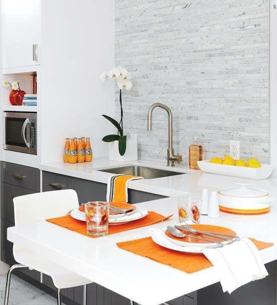 Arredare una cucina piccola e abitabile - Cucina piccola mobili utili