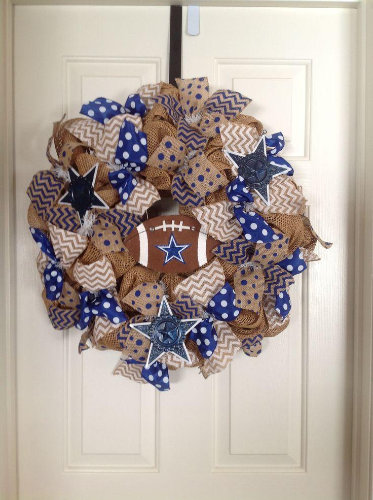 Dallas cowboys wreath...$65.00