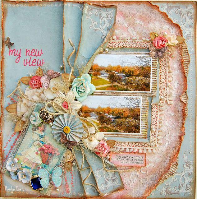 Berry71Bleu November challenge – by Marilyn Rivera