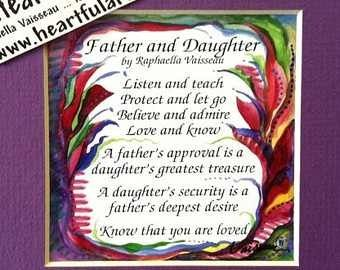 Father Daughter poem