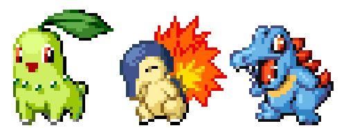 "meteor-falls: ""Johto Starters / Pokemon Pinball RS"""