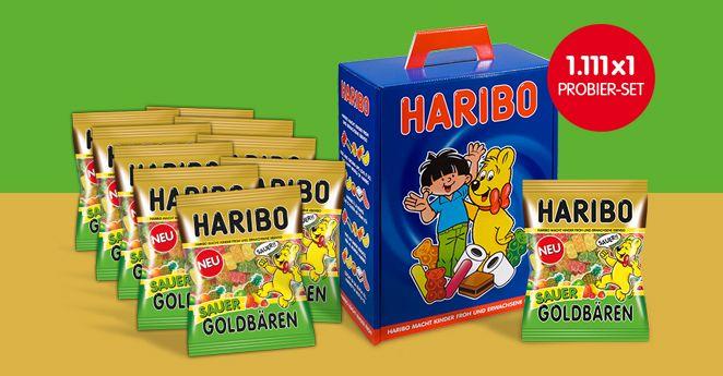 Haribo sauer goldbären gewinnspiel