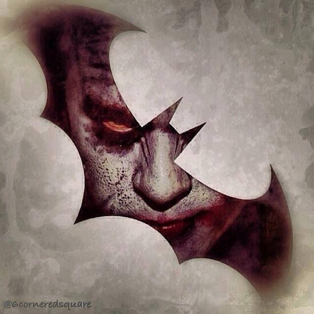 Batman - Dark Knight and Joker #dccomics #dc #darkknight
