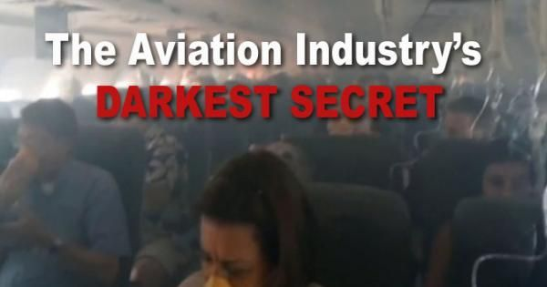 """The aviation industry hangs its hat on air travel being """"the safest way to travel."""" The truth, however, is that it has harbored a dark secret since its inception: it's poisoning its passengers and crew due to deeply flawed aircraft design, de-prioritizing safety in favor of profit."""