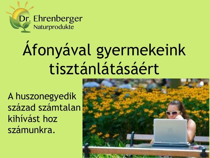 http://www.dr-ehrenberger.hu/gyermekeink-harmonikus-jovoje-az-afonya/  Áfonyával gyermekeink tisztánlátásáért by edmond51 via slideshare