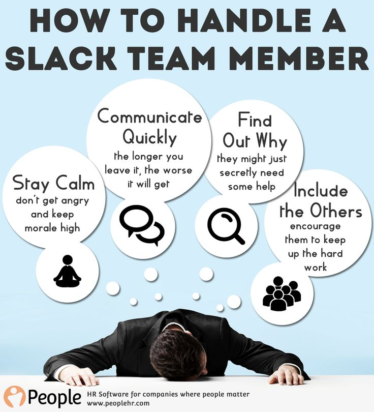 How To Handle A Slack Team Member | People HR | HR Software