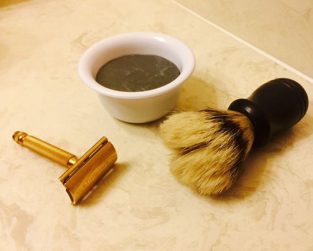 Activated Charcoal & Tea Tree Oil Shaving Soap