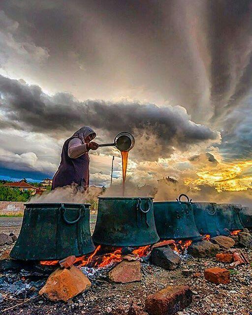 Molasses Time , Turkey