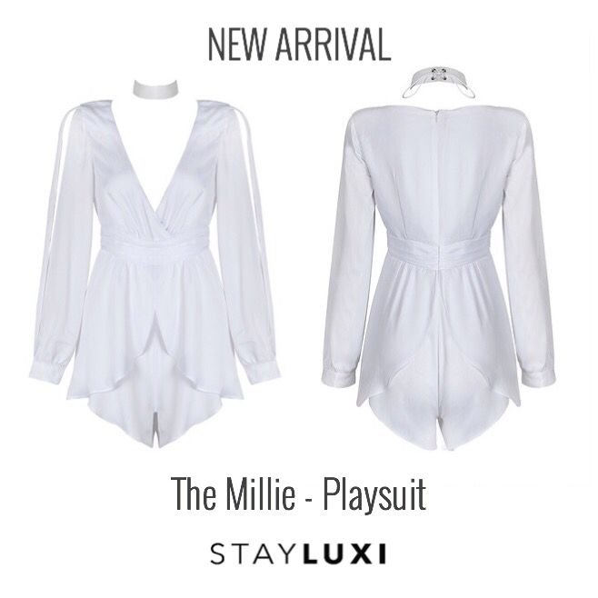 Just in time for spring!! Our new Playsuit, the Millie xoxo