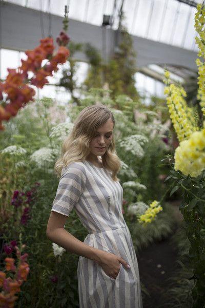 Céline Rita Stripe Jumpsuit Culottes Wintergardens Auckland