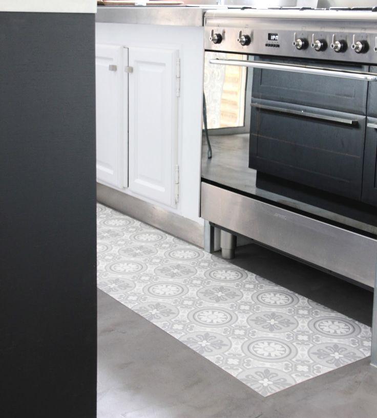 25 best ideas about tapis vinyl cuisine on pinterest vinyle carreaux de ciment sol en vinyle - Tapis cuisine vinyl carreaux de ciment ...