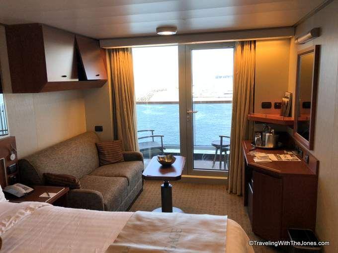 First Look Verandah Stateroom 4078 Eurodam Holland America Holland America Cruises Holland America Holland