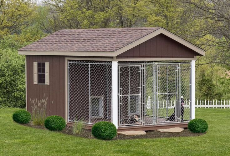 Outdoor Dog Kennel Best 25+ Outdoor dog k...