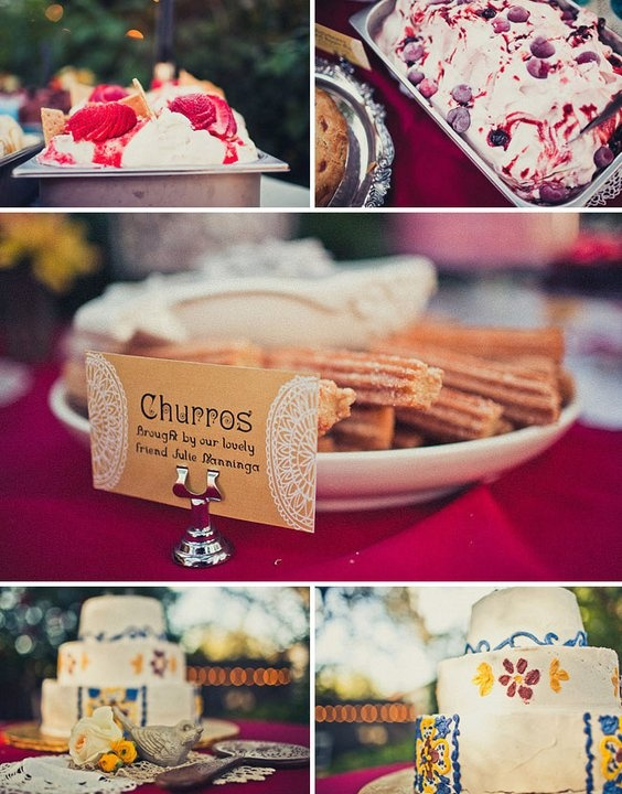 mexican wedding... OMG churros for the wedding , that would be fn awesome