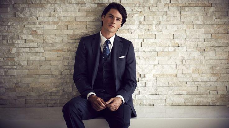 Cooper jacket, Lotus trouser and Churchill waistcoat BN78/75, Metropolis shirt SZ95/80, Silk tie TIE29-75 https://shop.rembrandt.co.nz/products/suits