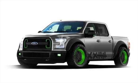 Ford F-150 2015 quiere el premio Hottest Truck del SEMA Show 2014 - Autocosmos.com