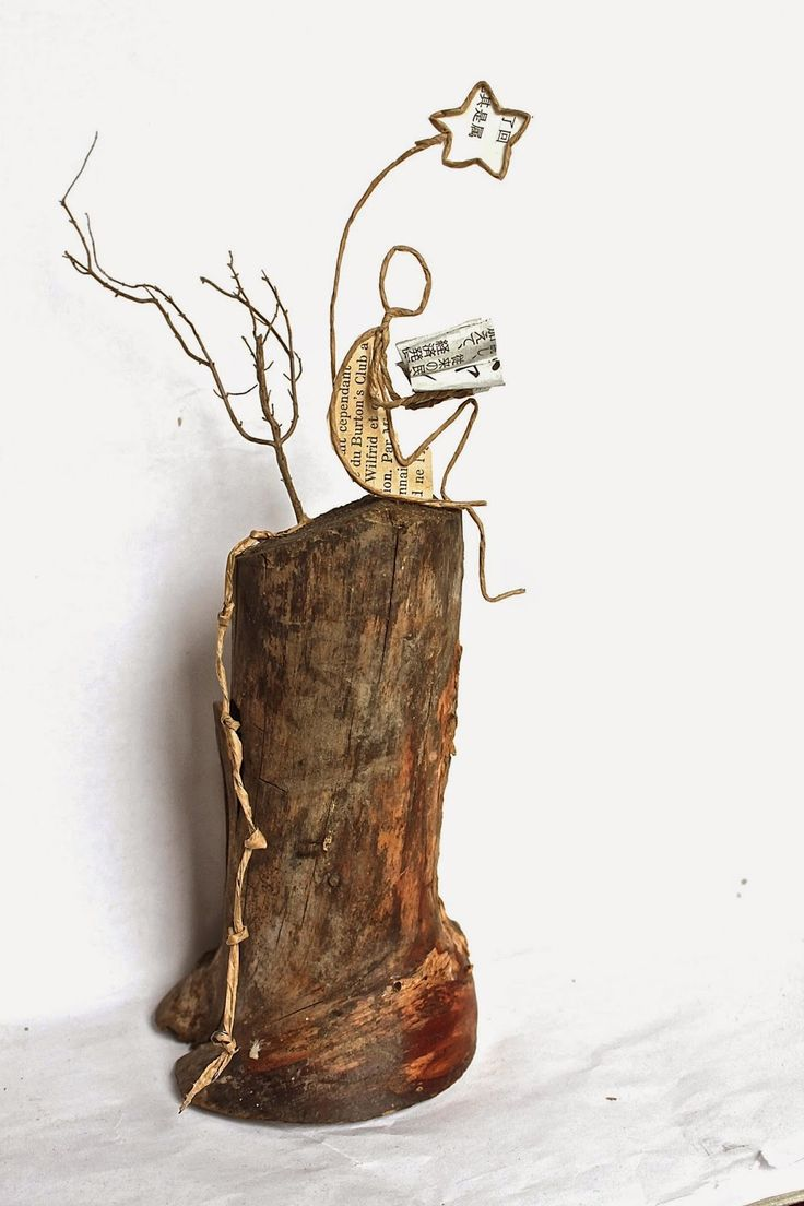 ~~~ wood, paper, wire