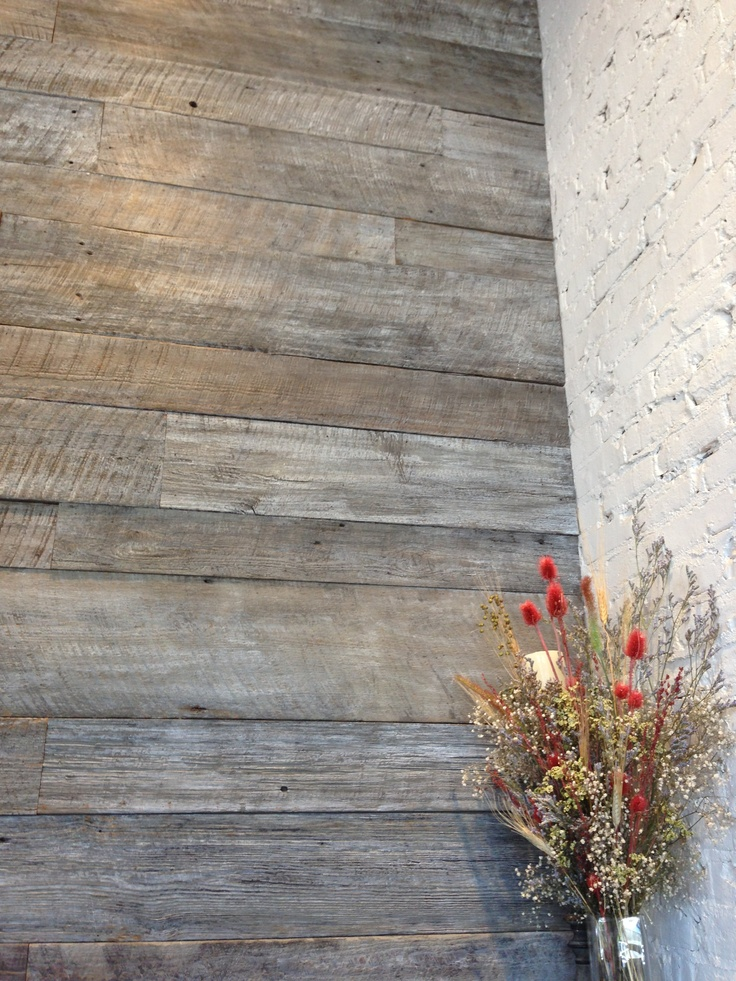 driftwood wall for the home pinterest