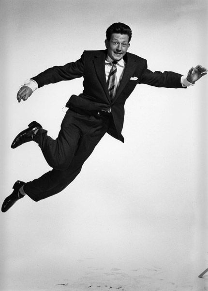 Photographer: Philippe Halsman, Donald O'Connor, 1952 ~ Very influential in my life ~ White Christmas, There's no Business Like Show Business, Singing in the Rain & many more! ~ ♥