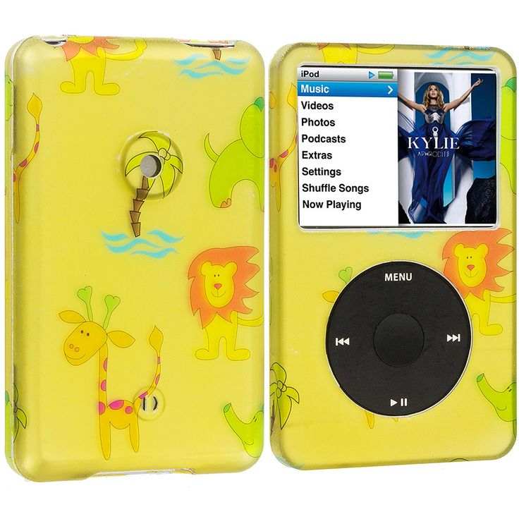 Zoo Hard Rubberized Design Case Cover for Apple iPod Classic