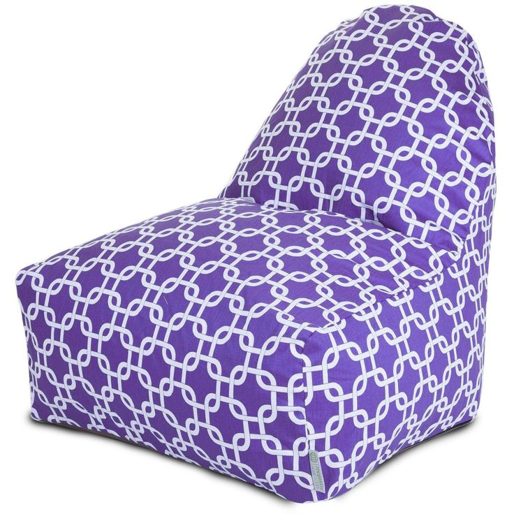 Purple Links Kick-It Chair