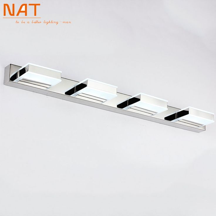 Find More Wall Lamps Information About Bathroom Mirror Light 16w 68cm Long Acrylic Material LED Lampshade