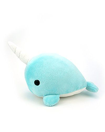 Bellzi® Cute Teal Narwhal Stuffed Animal Plush Toy - Narrzi - Made in USA Bellzi http://www.amazon.com/dp/B00P5P6N10/ref=cm_sw_r_pi_dp_zs4bvb0Y6792K