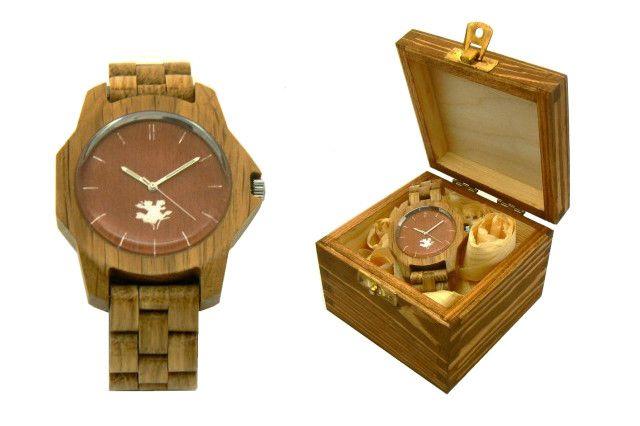 Zegarek z drewna :) #egarek #drewnianyzegarek #fashion
