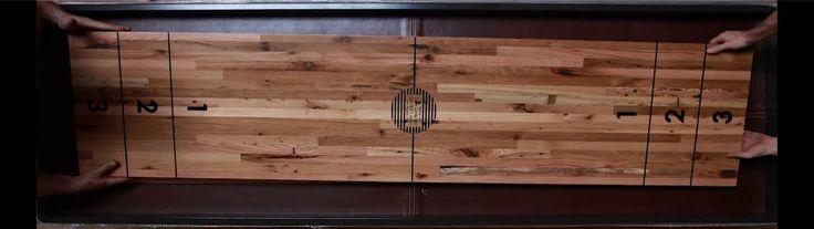 Shuffleboard by District MFG. Hands: Jeremy Williams Zwan Preston Michael Tye Luke Wilhite Ray Georgius Beemer Hodge Jose Gonzalez  http://d...