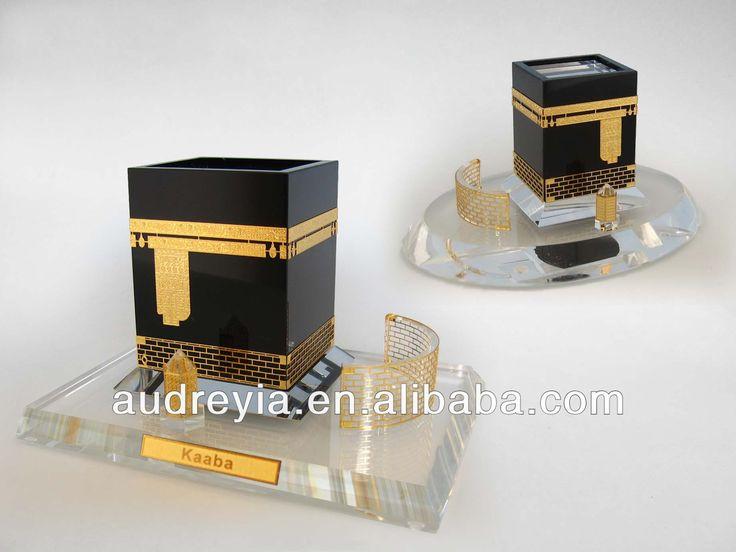 Top K9 crystal buidling islamic wedding gifts