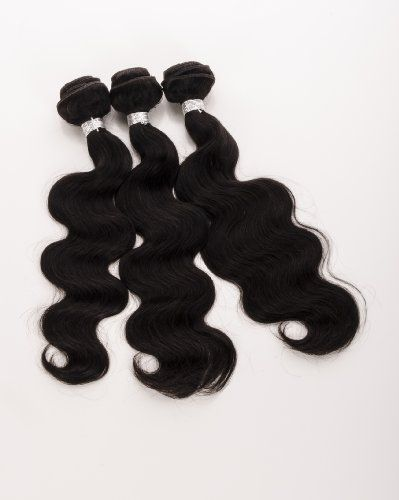 Human Hair Direct 100% Brazilian Remy Human Hair Extensions BODY WAVE 3-Pack (20, 22, 24) Bundle, 300g Total (100g each), Grade AAAAA (#Virgin Color) 14 - 28 100% Brazilian Remy Human Hair. 300g Total (100g each pack). Machine Weft, Grade AAAAA. Can be dyed, highlighted, curled, straightened just like your own!. Ships from USA not China!.  #Human_Hair_Direct #Beauty